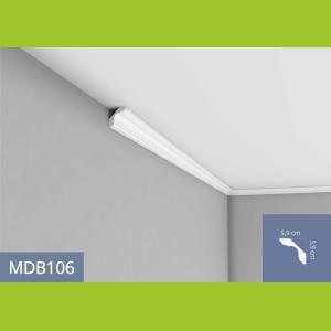 Deckenleiste - MDB106F (Flex) Mardom Decor