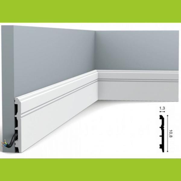 Fussleiste 10,8 x 1,3 cm SX105 Orac Decor