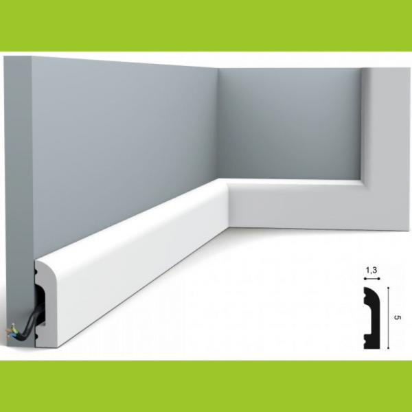 Fussleiste 5 x 1,3 cm SX182 Orac Decor