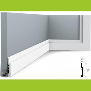 Fussleiste 7,5 x 1,2 cm SX187 Flexible Orac Decor