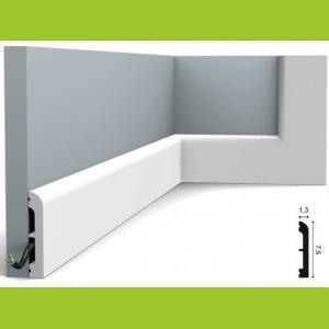 Fussleiste 7,5 x 1,3 cm SX183 Flexible  Orac Decor