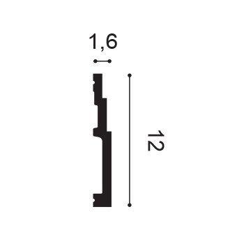 Fußleiste elastisch SX180F Orac Decor