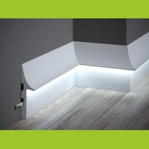 LED Sockelleiste aus Duropolymer QL008 Mardom Decor