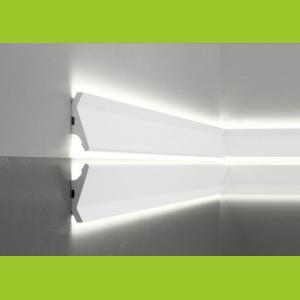 LED Sockelleiste aus Duropolymer QL014 Mardom Decor