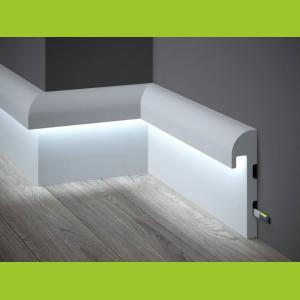 LED Sockelleiste aus Duropolymer QL015 Paper Mardom Decor