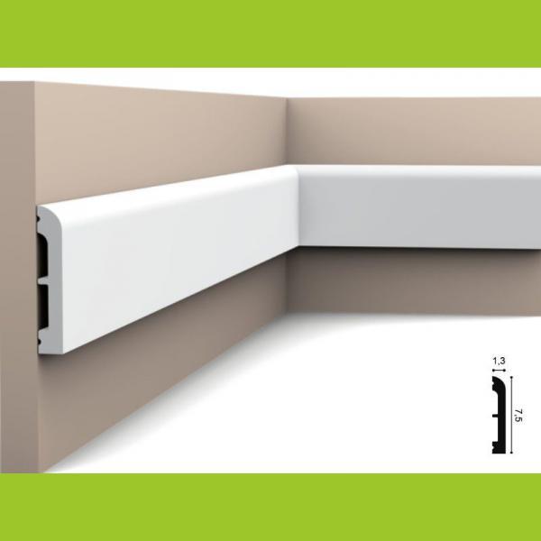 Wandleiste 7,5 x 1,3 cm SX183 Orac Decor
